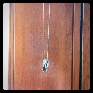 Jewelry - Premier jewelry flip-flop necklace
